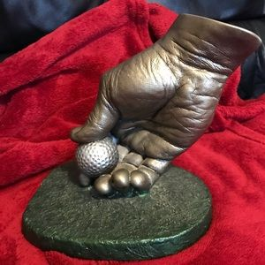 """TEE TIME "" Sculpture by John Cutrone"